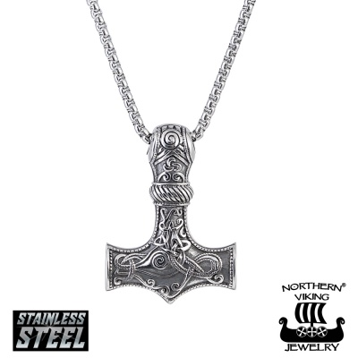 "Northern Viking Jewelry®-Riipus ""Knotwork Thorin Vasara"""
